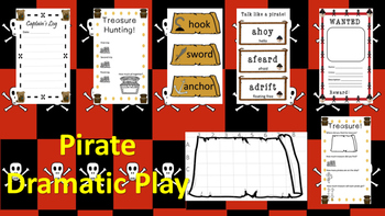 Pirate Dramatic Play Kit