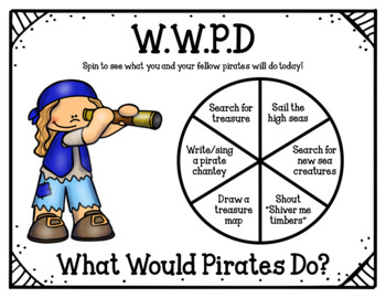 Pirate Dramatic Play (with pirate crafts/props)