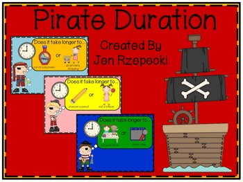Pirate Duration Activity