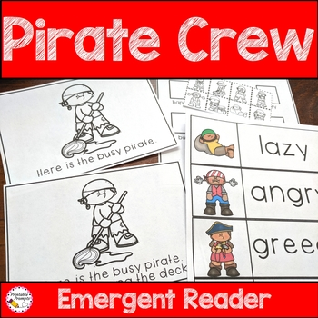 Pirate Emergent Reader The Pirate Crew