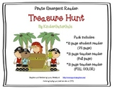 Pirates Emergent Reader - Treasure Hunt - Student and Teac