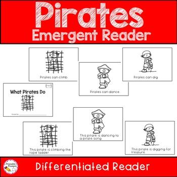 Pirate Emergent Reader What Pirates Do