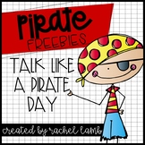 Pirate FREEBIES! Would you rather, what's your pirate name, & craftivity!