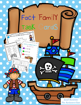 Pirate Fact Family