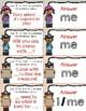 Pirate First Person Singular Pronouns ~ Quiz-Quiz-Trade Cards ~