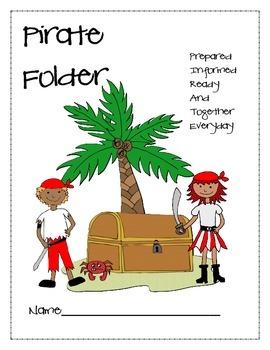 Pirate Folder Cover