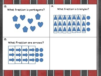 Fraction Common Core Games Naming Fractions, Sets, Story Problems 3 games in 1!