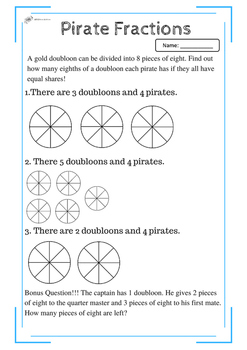 Pirate Fractions
