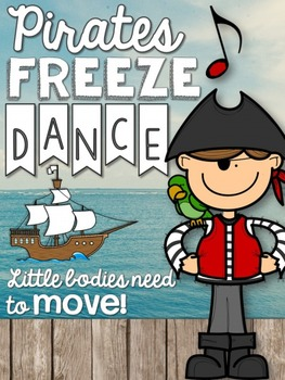 Brain Breaks - Pirate Freeze Dance