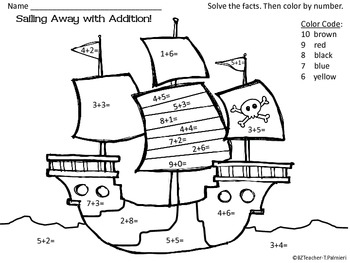 Pirate Fun! ~ Math and Language printables