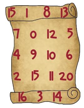 Pirate Fun Math and Literacy Center Packet