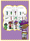 Pirate Fun Printable Add on