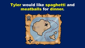 Pirate Fun With Nouns - A PowerPoint Game