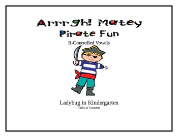 Pirate Fun with R-Controlled Vowel Sounds