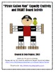 """Pirate"" Gallon Man Capacity (Measurement) Craftivity and SMART Board Activity"