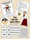 """Pirate"" Gallon Man Capacity (Measurement) Craftivity"