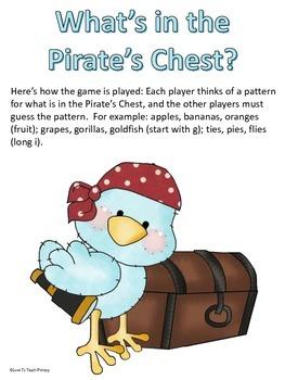 Pirates : Math & Language Arts