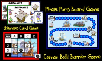Pirate Games Set