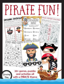 Pirate Games and Activities - Fine, Gross and Visual Motor Skills