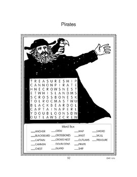 Pirate Games and Puzzles