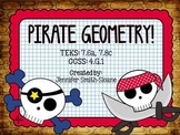Pirate Geometry - Foundations of Geometry Project