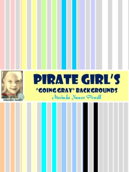 Pirate Girl's Going Gray Backgrounds