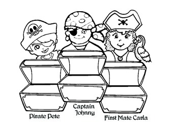 Pirate Gold: Math Activity (Adding Three Numbers)