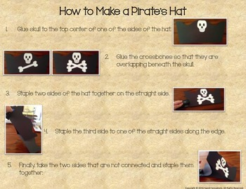 Pirate Hat Craft