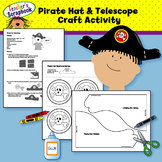 Pirate Hat & Telescope Craft Activity