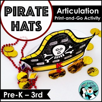 Pirate Hats for Speech/Language Therapy