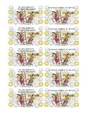 Pirate Homework Punch Card