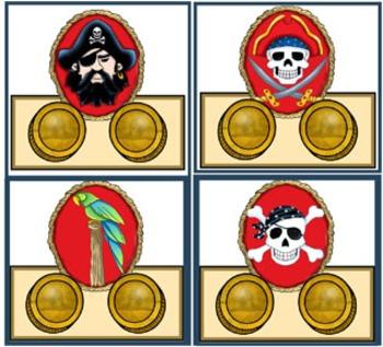Literacy Center - Pirate Homophones - Sound alike words