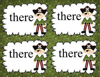 Pirate Homophones:  They're, There, and Their
