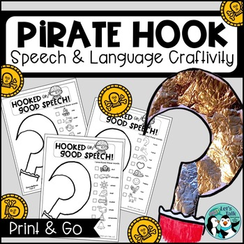 Pirate Hook Craftivity