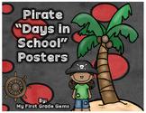 "Pirate ""How Many Days In School?"" Freebie!"