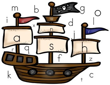 Pirate Letter Recognition Game