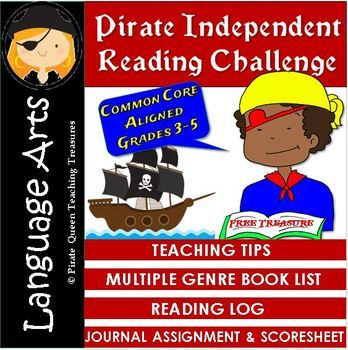 Pirate Independent Reading Challenge