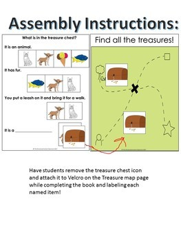 Categories Adapted Book Pirates Identify- Pictures with Inferencing for Autism