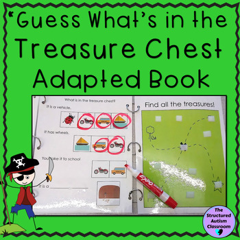 """Inferencing Adapted Book:""""Pirates"""" Identify pictures by fe"""