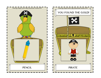 Pirate Island: Articulation Game for /P/ - All Word Positions - Speech Therapy