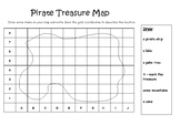 Pirate Island Map - Grid Coordinates
