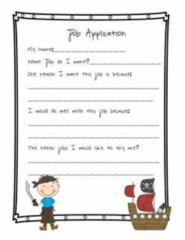 Pirate Job Wall Bulletin Board