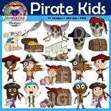 Pirate Kid Clip Art (Treasure, Ship, Skull, Sword, Boat, Sailing)