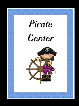 Pirate Kids Center Sign