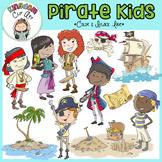 Pirate Kids Clip Art