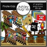 Pirate Kids Clipart [Ashley Hughes Design]