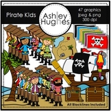 Pirate Kids Clipart {A Hughes Design}