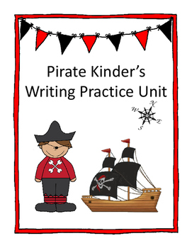 Pirate Kinder's Writing Practice Unit M, P, and S