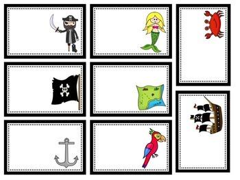 Pirate Labels editable