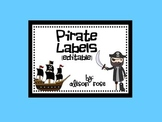 Pirate Labels editable